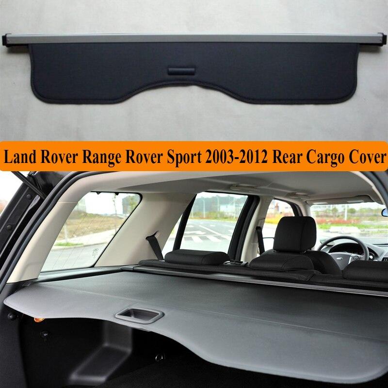 Para Land Rover Range Rover Sport 2003-2012 Tela de privacidade Tronco cobertura de Carga Traseira Tampa de Segurança sombra Escudo Auto Acessórios