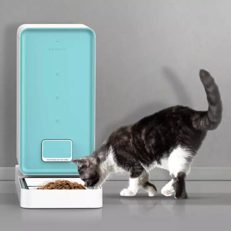 PETKIT Automatic Pet Feeder for Dog Cat 5.9L Auto Smart Dog Dispenser Wi-Fi Enabled App for Android iOS and Compatible with Alex