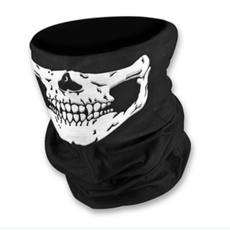 2018 cráneo Multi pañuelo de motocicleta bufanda CS juego gorro de esquí cuello al aire libre deporte máscaras ciclismo motocicleta cráneo Bandana
