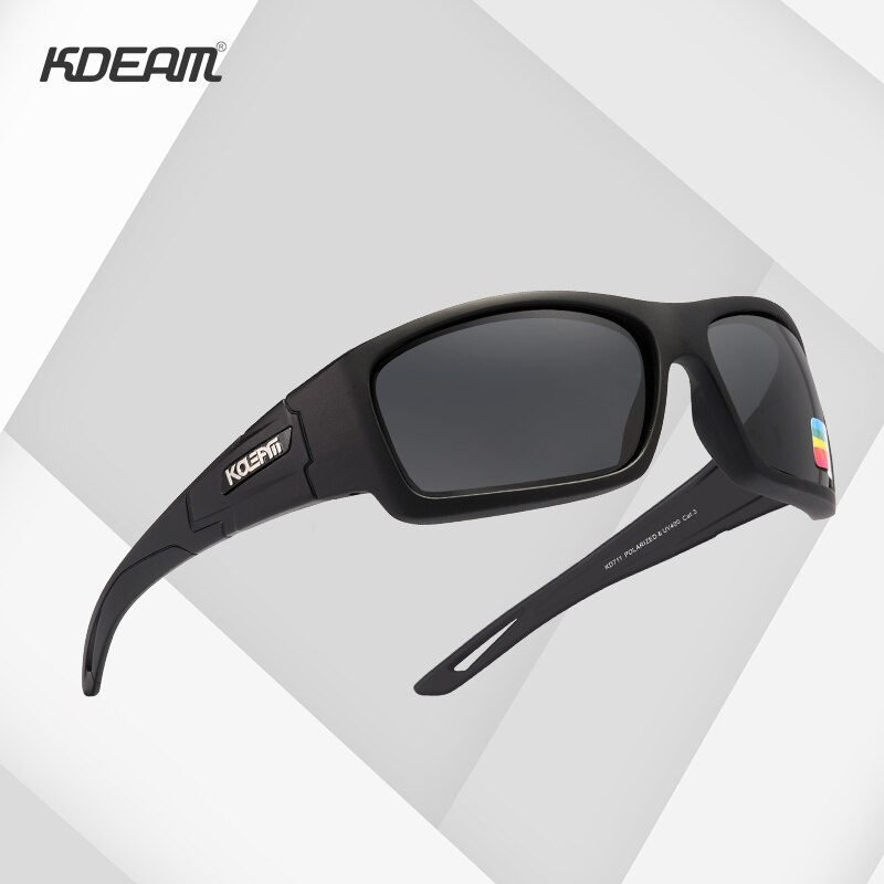 KDEAM New Tactical Goggles Sunglasses Men Military Sun Glasses For Men's Desert Jungle Forest War Ta