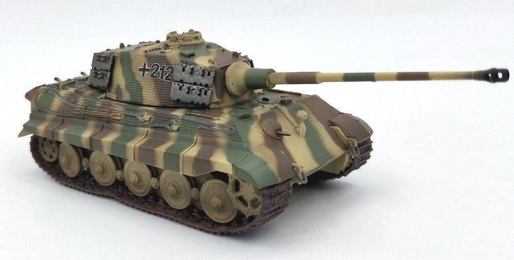 172 Germany Heavy tank model of Henshl turret of tiger king Trumpet hand finished 36295