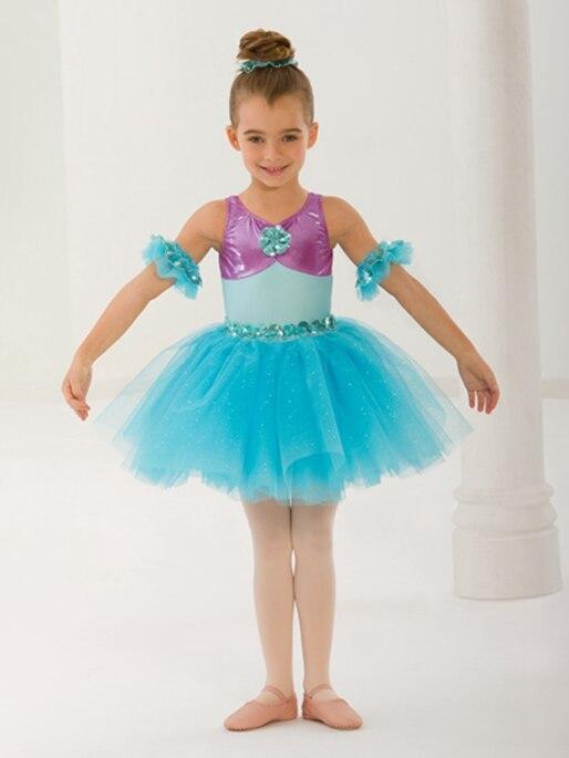 Nuevo vestido de Ballet para niñas y princesas, vestido lírico Bailarina Balet para actuación de fiesta y cumpleaños, vestido de baile para el Día de los niños