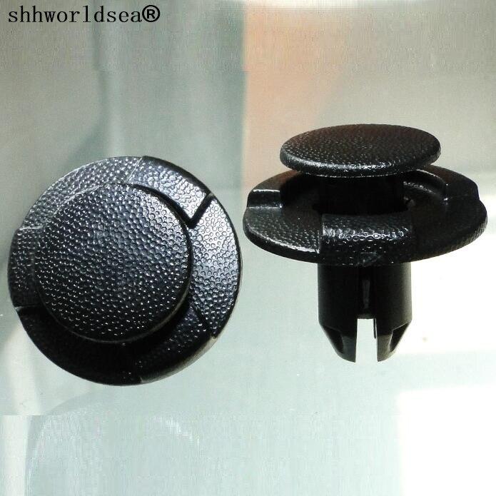 Shhworldsea 8mm samochodowy panel wykończenia drzwi zderzak Fender nity mocujące samochodowe plastikowe klips do mocowania dla honda toyota Car Styling