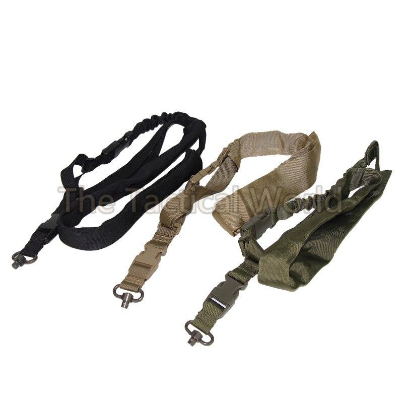 Открытый Охотничий Тактический быстроразъемный QD Поворотный пистолет винтовка Слинг Ремень боевой один 1 точечный пистолет слинг наружный...