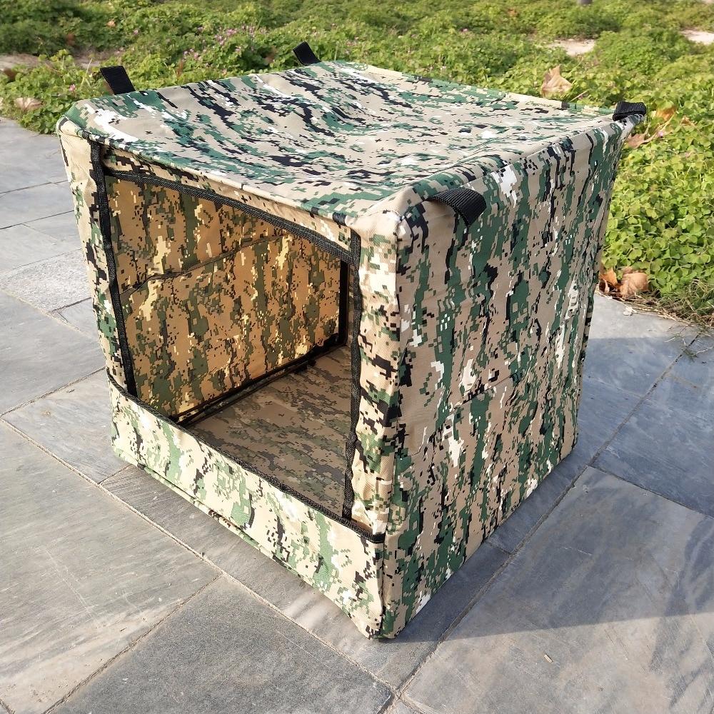 Outdoor Camouflage Box-type Portable Military Shooting Box 1PC Target Box Airsoft Gun Slingshot Shooting Archery Targe