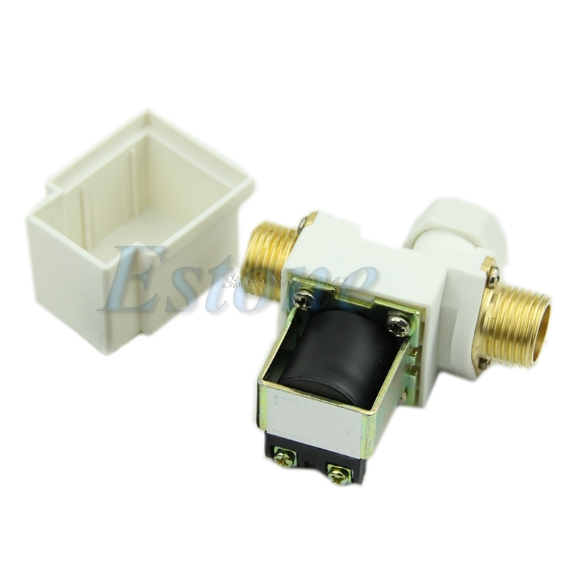 N/C DC 12V 0-0.8MPa 1/2'' Electric Solenoid Valve For Water Air New Electric Solenoids Valves Dropship