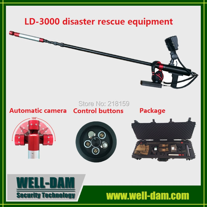 Detector de vida de WD-LD3000 fabricantes de detector de vida de vídeo