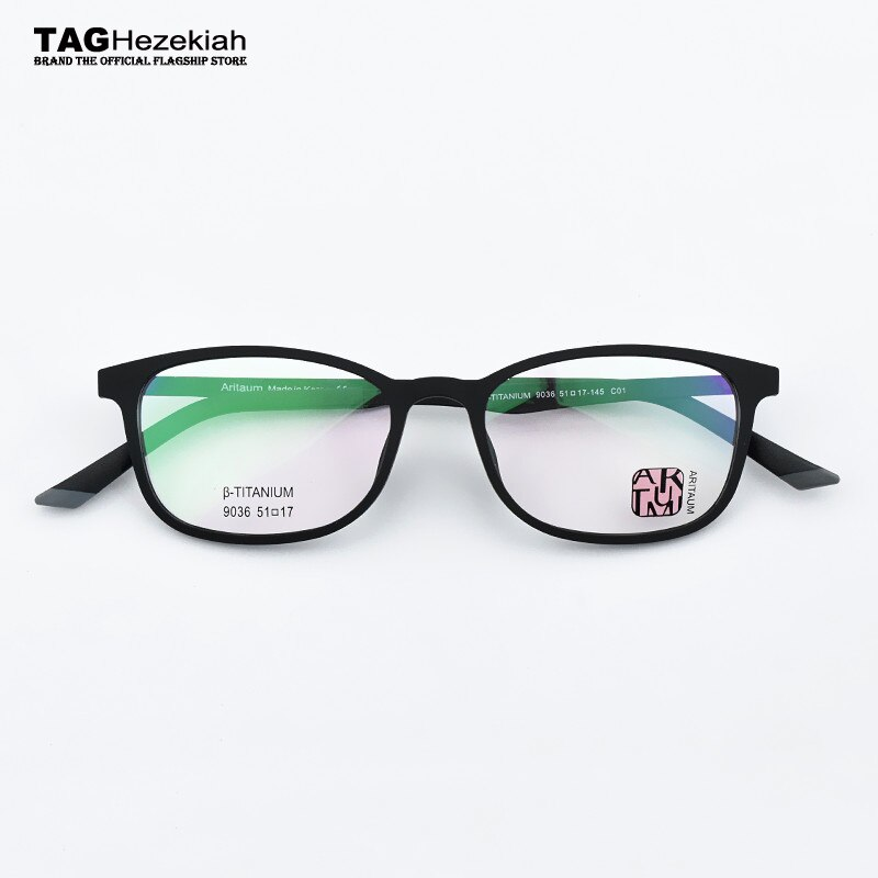 Ultraligero memoria titanium marco TR90 hombres Plaza miopía anteojos recetados 2019 óptico Marco de gafas para ordenador