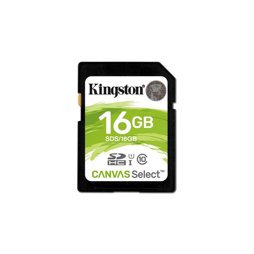 16GB SDHC CANVAS SELECIONAR 80R CL10 UHS-I