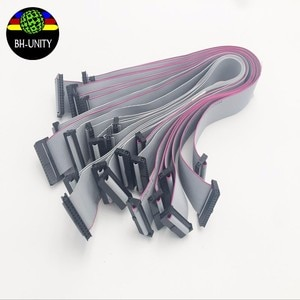 4pcs/lot good quality km512 print head cable 26pin for allwin human design solvent printer with konica 512 printhead