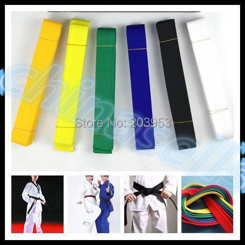 hot 2.8M martial arts belt Karate Taekwondo Judo Jiu jitsu tae kwon do belt Karate Taekwondo tape