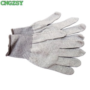 Image 2 - 5 пар износостойких нейлоновых перчаток из углеродного волокна для автомобиля, обертывание, Тонировка окон, вспомогательные инструменты, вязаные перчатки 5D08