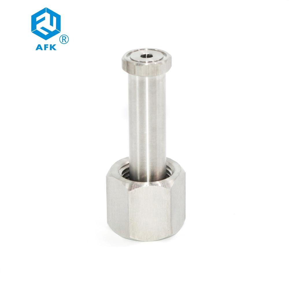 Co2 النيتروجين الهيليوم DIN477 NO.1 NO.6 NO.8 NO.9 NO10 لا. تجهيزات أنابيب أسطوانية 14 بوصة