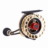 boat spinning fishing reel for seawater freshwater fish adult child raft wheel fly fishing reels camping travel g ratio 4 31