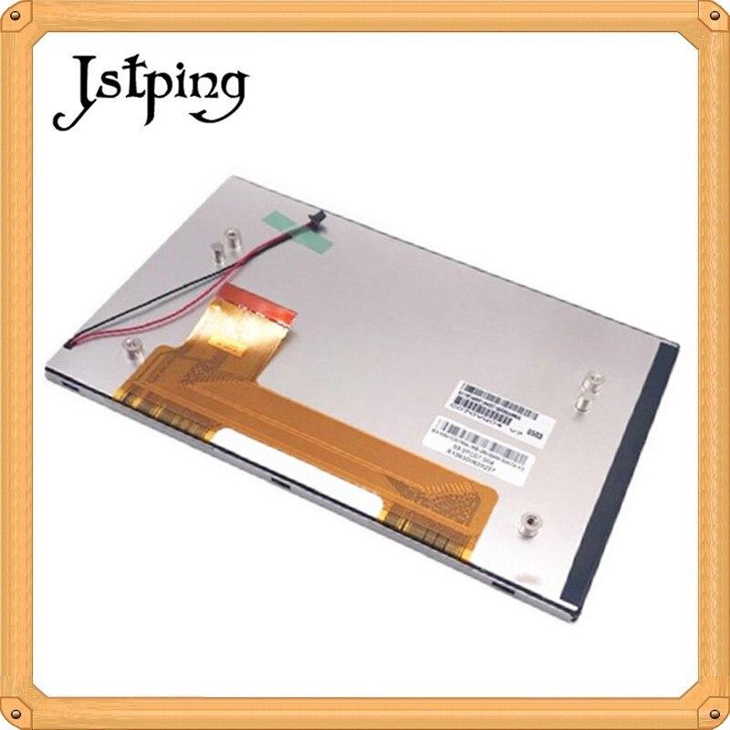 Jstping 7 pulgadas a-si TFT 50 pines 800*480 pantalla LCD para AUO C070VW04 V7 GPS coche LCD panel de visualización interno