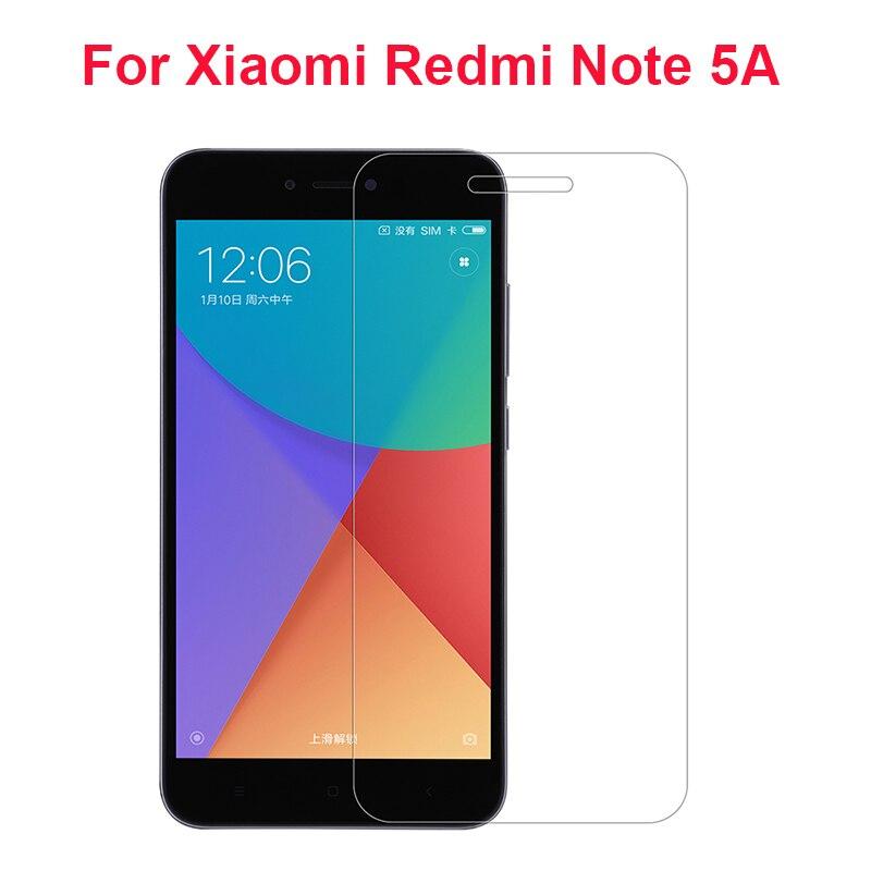 2 piezas de vidrio templado para Xiaomi Redmi Note 5A Protector de...