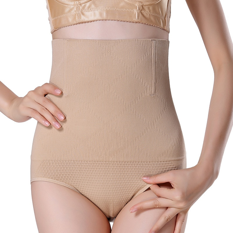 SH-0001 Women High Waist Shaping Panties Breathable Enhanced Body Shaper Slimming Tummy Underwear panty shapers