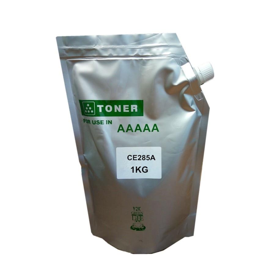 Kompatibel 1 KG refill tonerpulver für HP ce285a 285a 285 85a LaserJet Pro P1102/M1130/M1132/M1210/M1212nf/M1214nfh/M1217nfw