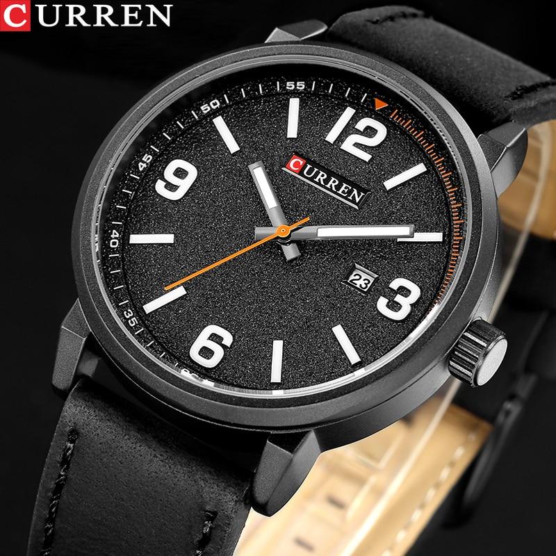 CURREN 8218 New Luxury Brand Men Classic Military Watches Men's Quartz Date Clock Male Sports Wrist Watch Relogio Masculino