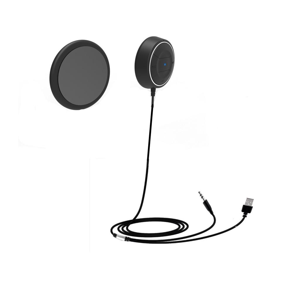 NFC Bluetooth Samochodowy Zestaw 3.5mm AUX Audio Odbiornik Bezprzewodowy Bluetooth 4.0 Odbiornik zestawy Zestaw Głośnomówiący Z Mikrofonem 3.1A Podwójna ładowarka USB Samochód ładowarka 2