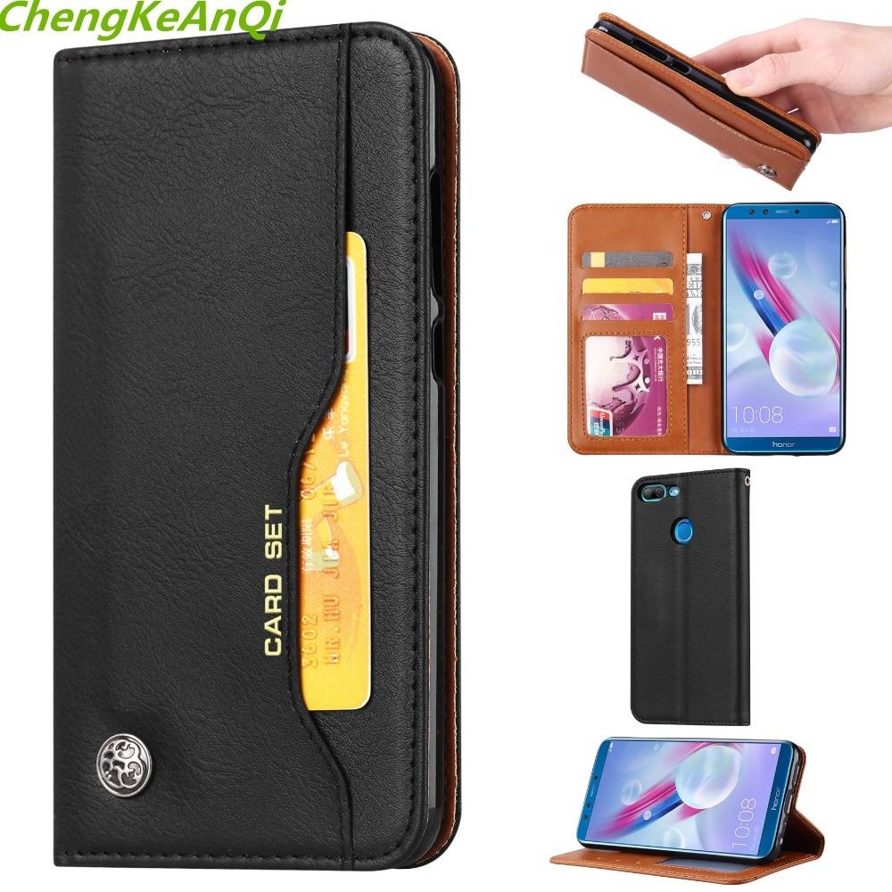 Funda de cuero PU de lujo para Huawei Honor 9 Lite funda de silicona Flip Wallet fundas de teléfono para Huawei Honor9 Lite 9 lite 5,65 pulgadas