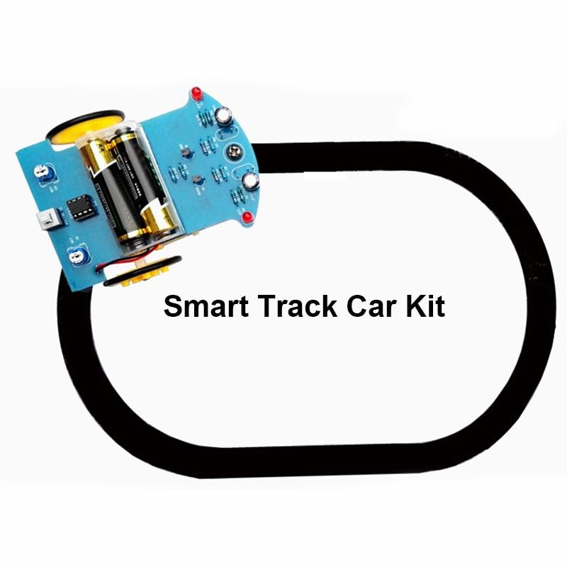 Intelligent Tracking Smart Car Robot DIY Kits with TT Motor Wheel Electronic UY8