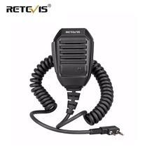 RS-113 à chape Microphone haut-parleur pratique 2000D câble Kevlar pour Kenwood Baofeng UV5R UV82 H777 RT21 RT22 RT3 RT5R talkie-walkie