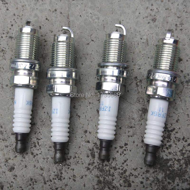(4PCS) 9807B-5617W LASER IRIDIUM Spark Plug 6994 IZFR6K-11 FOR HONDA Element FOR Acura CSX