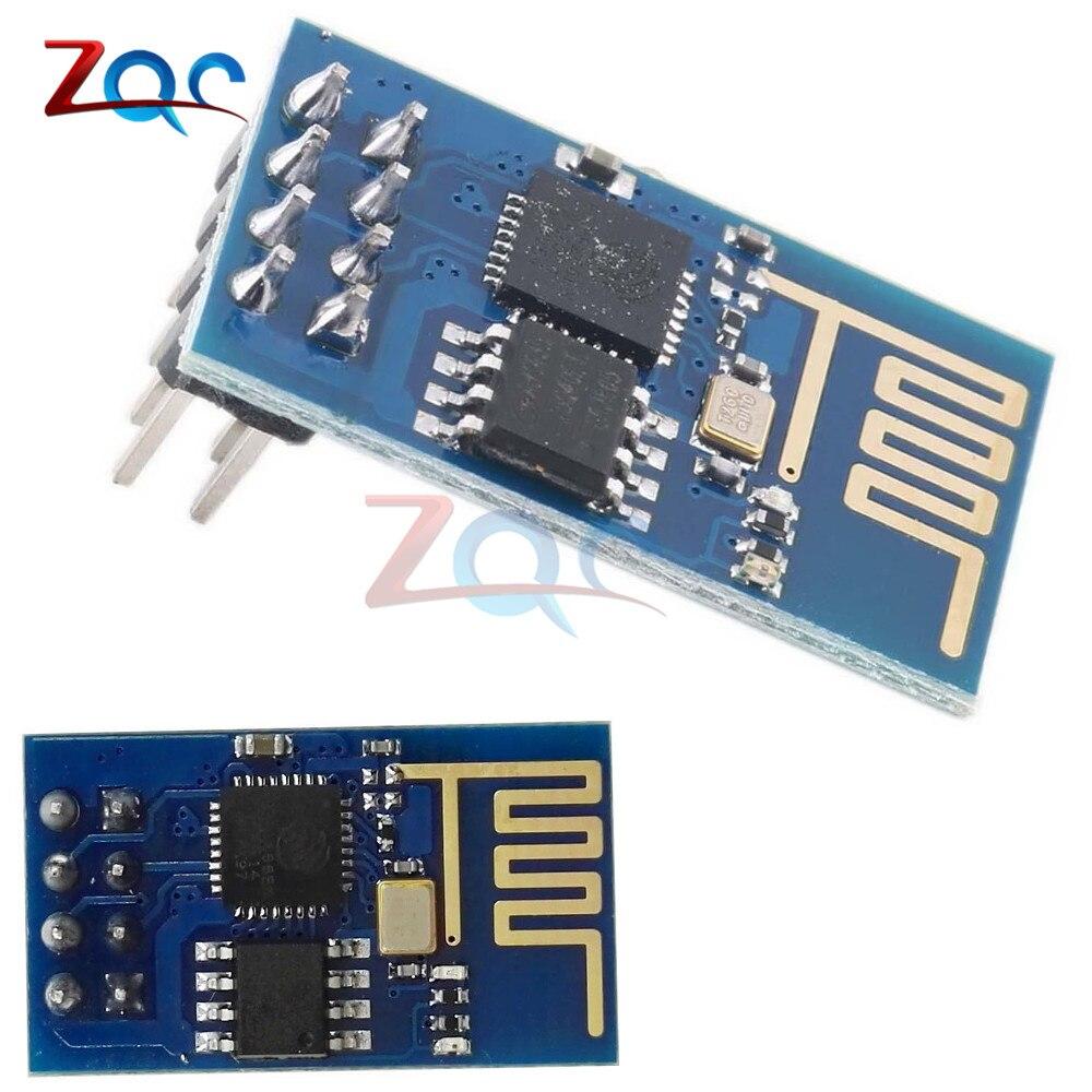 Puerto Serial remoto ESP8266 ESP-01 módulo transceptor inalámbrico WIFI interfaz LWIP AP + STA SMD para controlador de luces LED