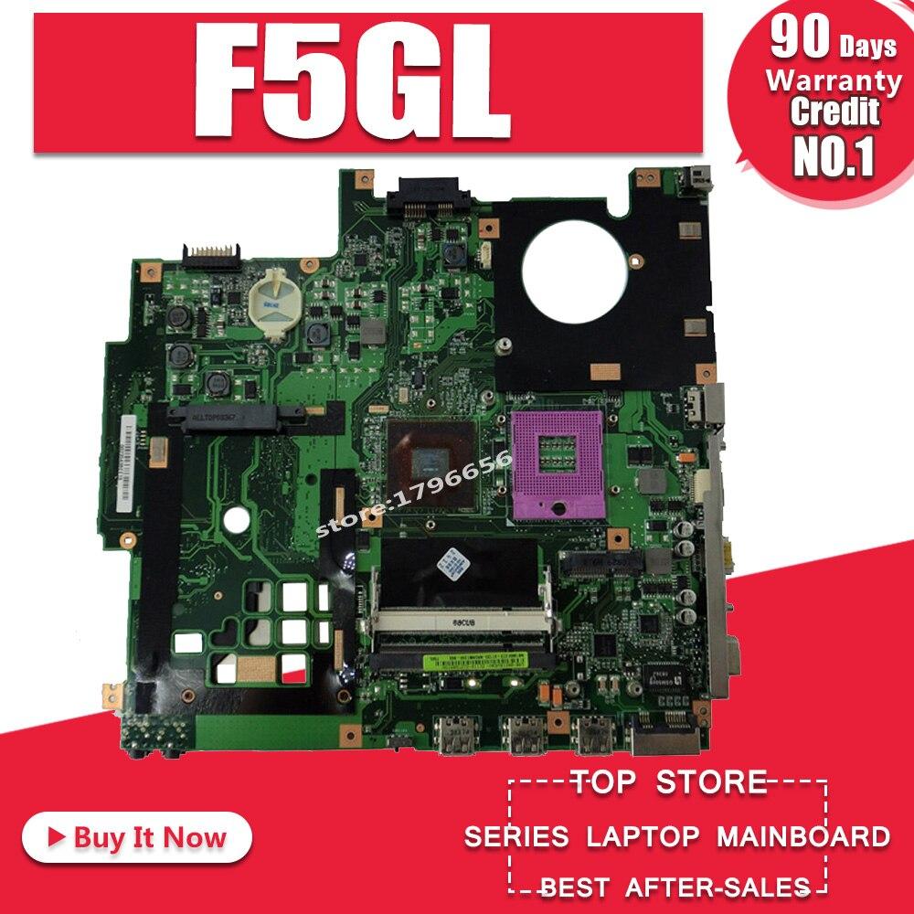 Placa base original para ordenador portátil F5GL, 100%, para For Asus X59GL...