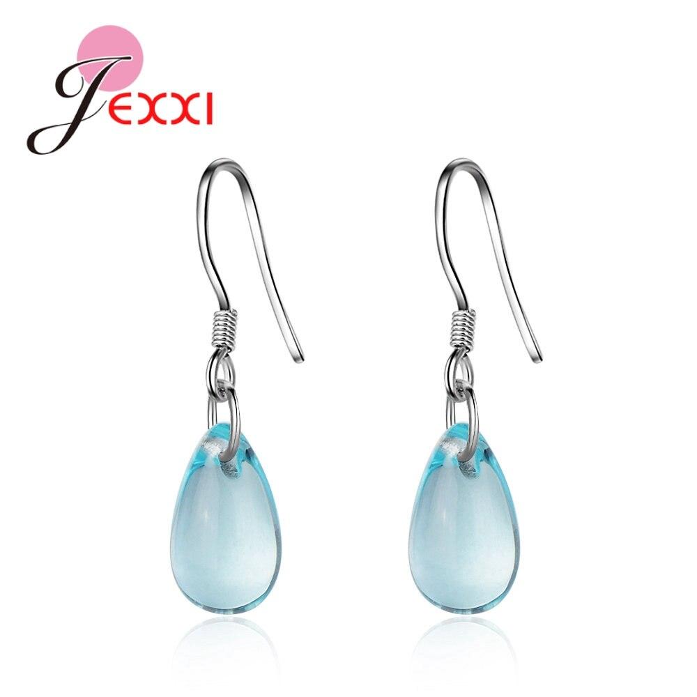 Женские-серьги-подвески-из-серебра-925-пробы-с-синим-кристаллом