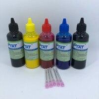 YOTAT 5Color*100ml Pigment Ink For CANON PGI-150 PGI-250 PGI-450 CLI-451 PGI-550 CLI-551 PGI-650 PGI-270 PGI-470 PGI-570 PGI-670