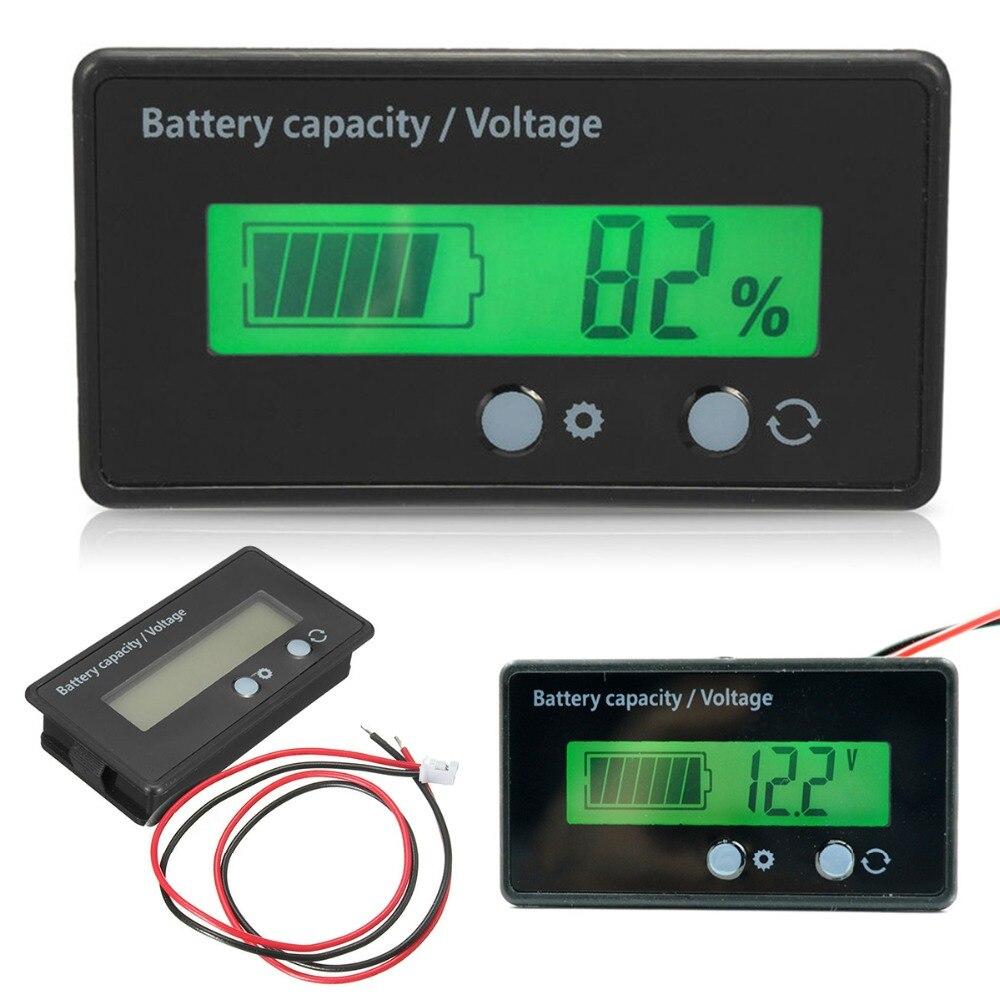 LCD Display Backlit HTN / PCB Universal Batterie Kapazität Spannung Meter Tester Voltmeter Monitor Wasserdichte Batterie Anzeige