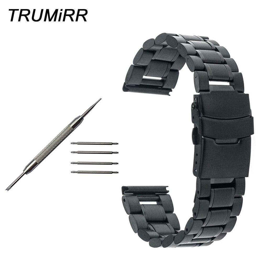 Ремешок из нержавеющей стали для часов Mido безопасный браслет с застежкой мужчин