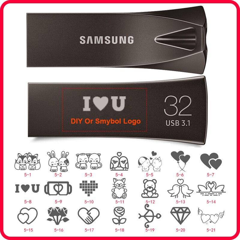 SAMSUNG-Memoria USB 256 de alta velocidad, 128 de Memoria USB 3,1 gb,...