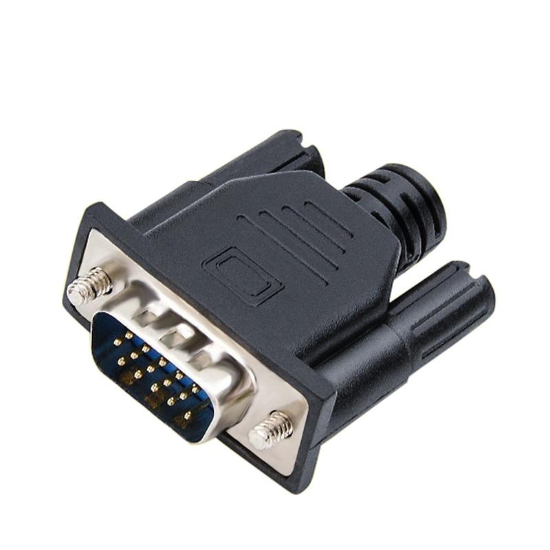 NWorld 2018 HDMI VGA пустышка разъем виртуальный дисплей Edid поддержка 1920x1080P для видеокарты BTC Mining Miner эмулятор адаптер DDC