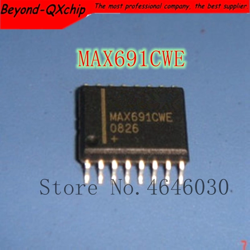 Envío gratis 10 uds/LOTMAX691CWE MAX691CW MAX691C MAX691 mejor calidad