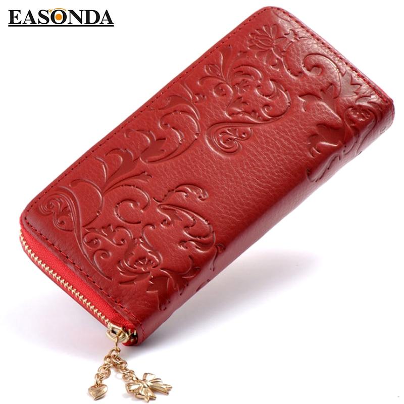 Итальянский женский кошелек из натуральной кожи, женская сумка-клатч, женская сумка для монет, кошелек на молнии, держатель для карт, органа...