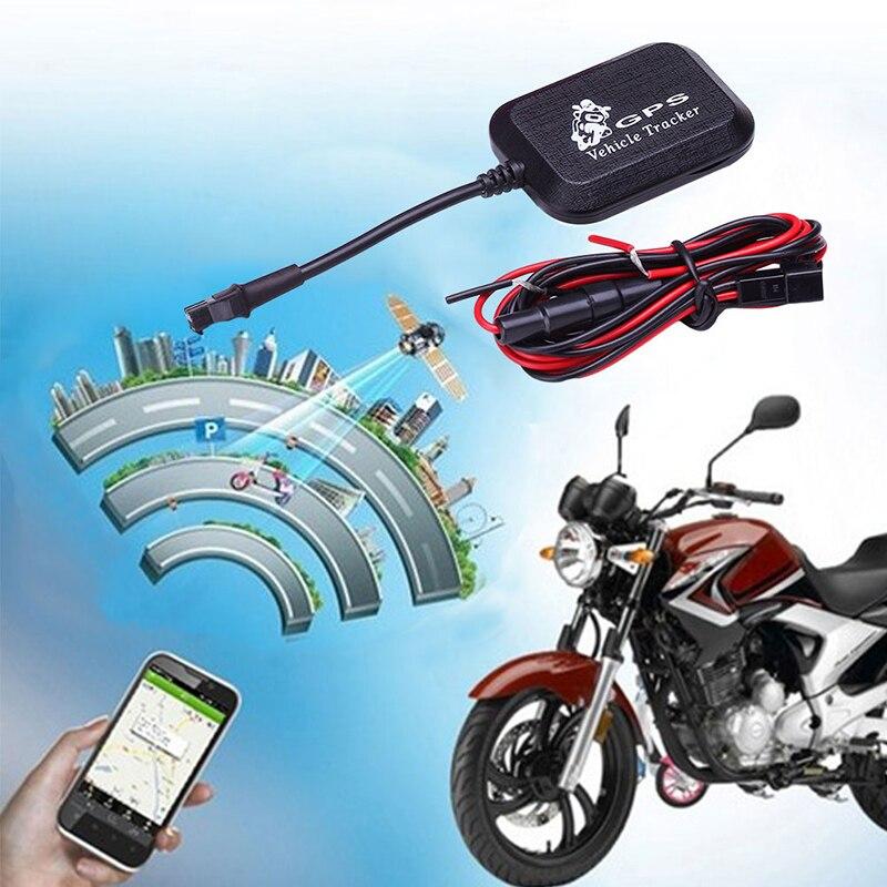 Coche bicicleta eléctrica motocicleta GPS Tracker SMS red troncal Sistema de Seguimiento dispositivo localizador Google Link rastreador GPRS en tiempo Real