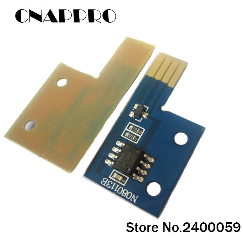 5 set/lote Compatible Xerox Phaser 6130 Phaser6130 Phaser-6130 restablecer Chip de cartucho de tóner 106R01281 106R01278 106R01279 106R01280