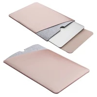 11 6 12 13 3 15 4 inch notebook sleeve case double layer leather laptop bag cover for retina macbook air pro 11 12 13 15 sy018