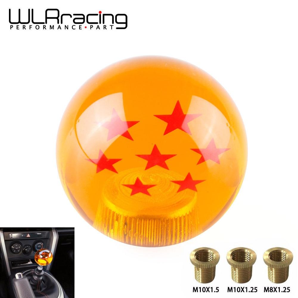 WLR RACING-perilla de cambio automático Universal raro DRAGONBALL DRAGON BALL Z 54mm de diámetro palanca de cambios 7 estrellas WLR-GSK14