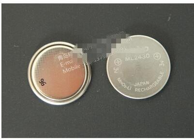 Batería de botón recargable de 5 uds ML2430 3V batería simple ML2430
