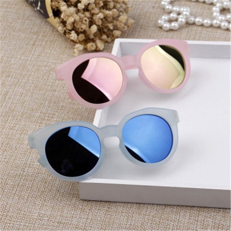 Детские солнцезащитные очки KOTTDO, черные солнцезащитные очки с защитой от УФ-лучей для мальчиков и девочек, 2018