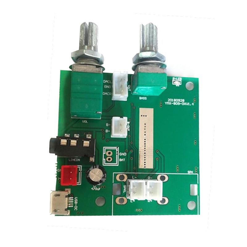 Bluetooth 5,0 5V Digital Placa de Amplificador de Audio 20W 2,1 canal...
