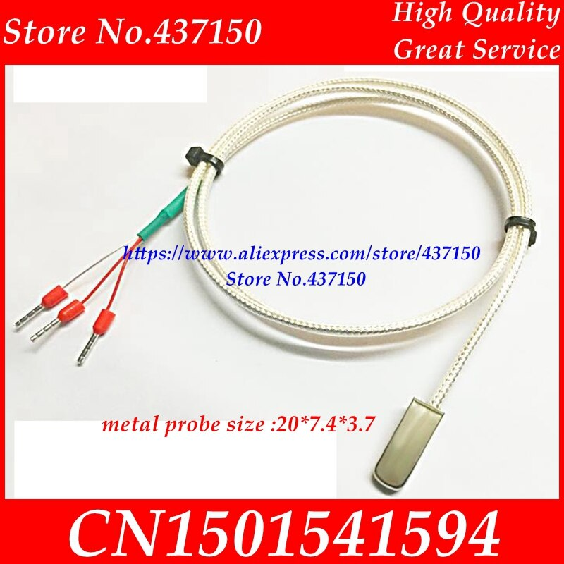 Paste  pt100 platinum thermal resistance SMD temperature sensor surface probe Import PT1000