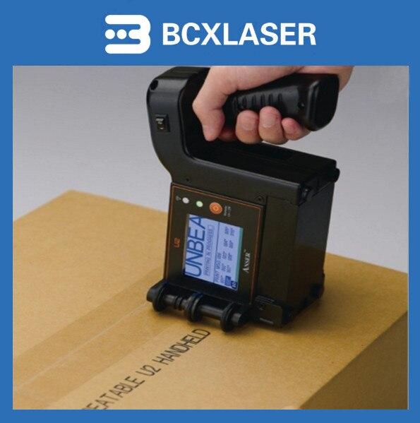 Мобильный ручной струйный принтер U2, недорогой ручной промышленный струйный принтер из Индии