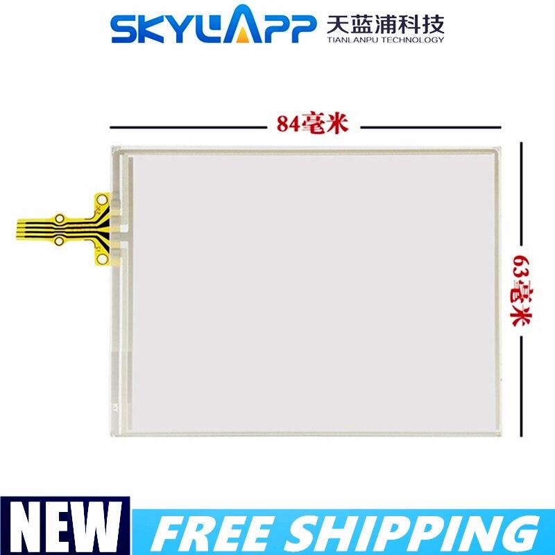 3,5 inch pantalla táctil para HP hx4700 hx 4705 accesorios de pantalla táctil externa escritura panel táctil Pantalla de Cristal 84mm * 63mm