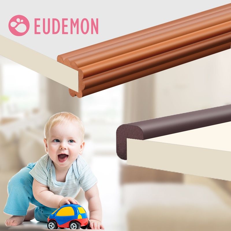 2m children baby protection table guard strip safety products glass edge furniture horror crash bar corner foam bumper collision EUDEMON 2M Children Protection Table Guard Strip Baby Safety Products Glass Edge Furniture Horror Crash Bar Corner Protection