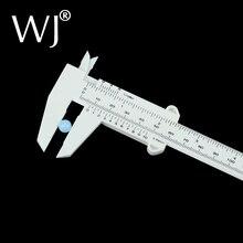 """Wholeslae 150 mm 6 """"kunststoff sattel vernier gauge mikrometer weiß schmuck ring perle einfach messungen für shop werkzeug oder student"""
